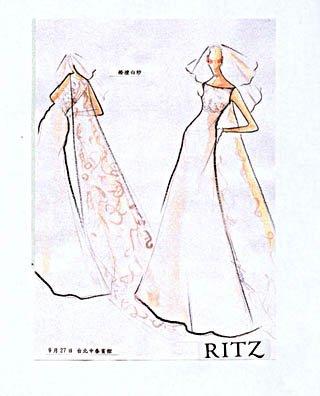 公主小礼服设计图展示