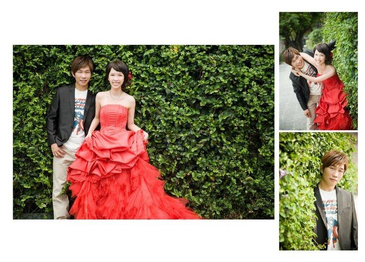 分享我的婚纱照排版(图文多) part 1
