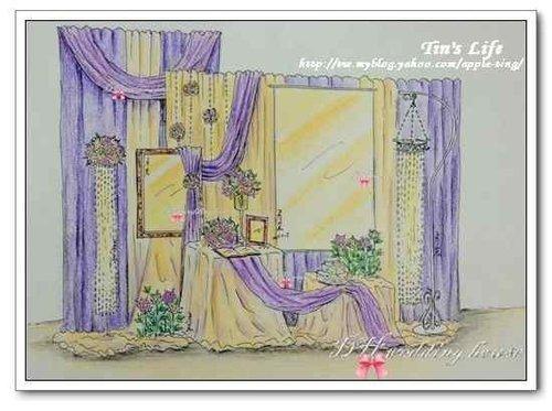 布置手绘效果图_婚礼手绘效果图_银澜手机图片壁纸大全; 我的梦幻宫廷