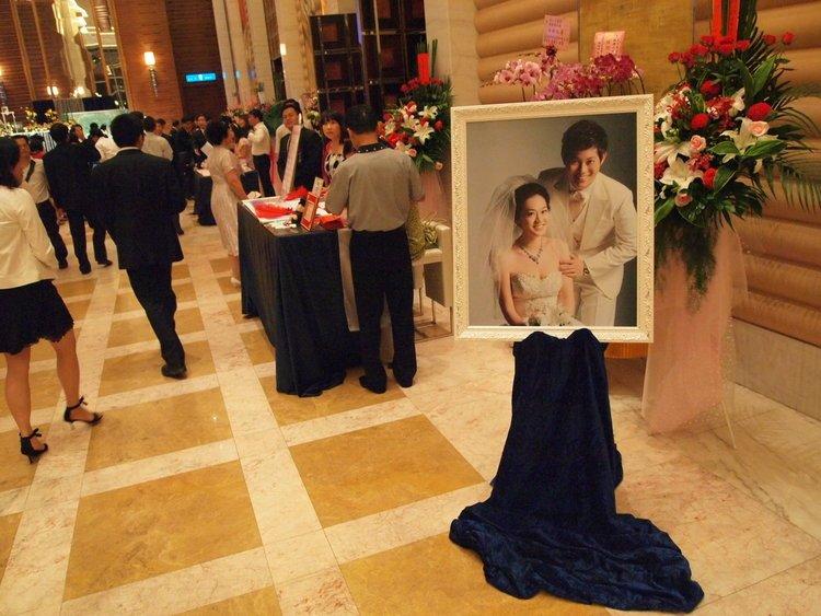 [小王子与玫瑰婚礼]梦幻星空蓝婚礼布置