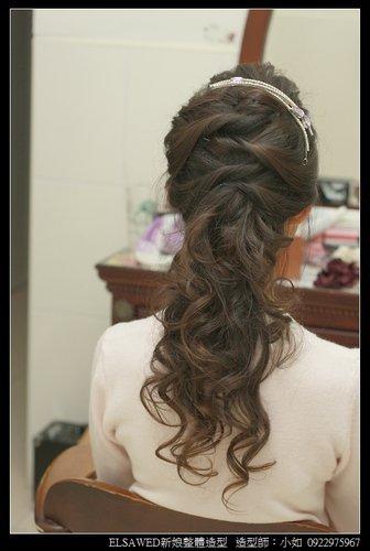 2014短发新娘当天造型,新娘当天造型图片,新娘当天造型,
