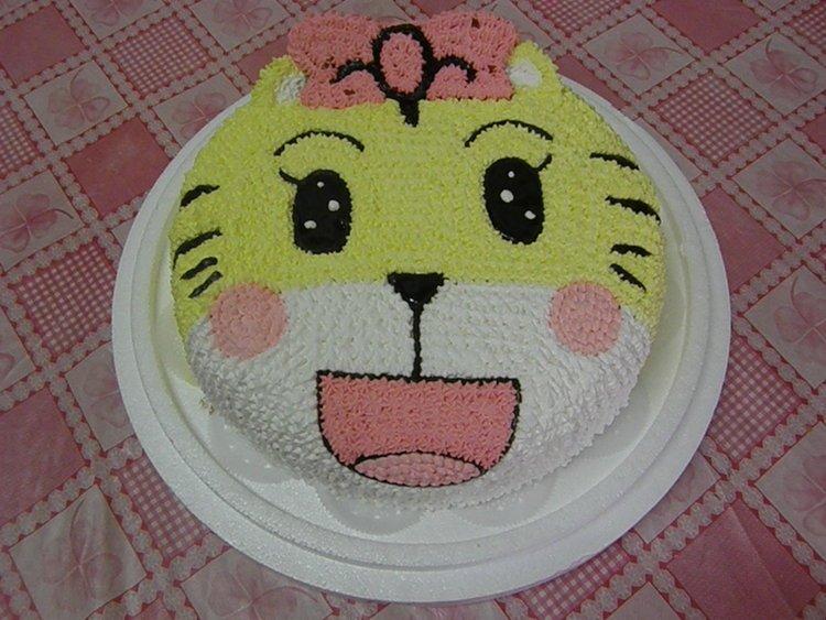 超萌可爱卡通马蛋糕