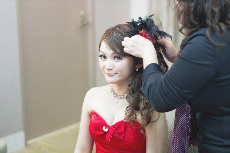 新娘结婚发型