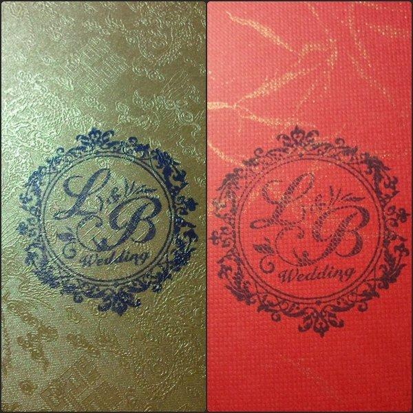 l & b wedding~专属婚礼印章