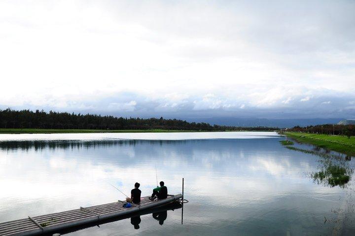 【閒妻新春台東遊記】- 第一天-好山好水活水湖及琵琶湖鐵馬行