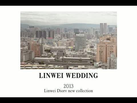 2013林薇時尚婚紗-Linwei Diorv 品牌全新發表