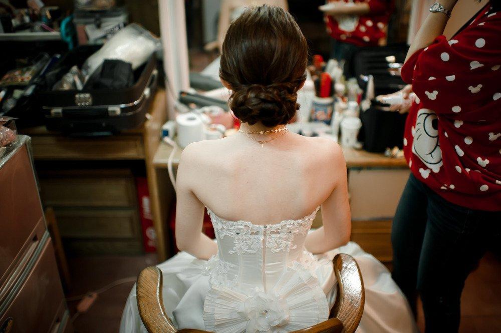 婚礼婆婆盘头发型图片