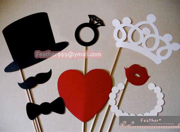 婚礼扮装趣味道具,售250  婚礼时使用於亲友拍摄拍立得的趣味道具