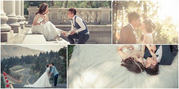 浪漫唯美婚紗照風格