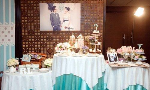 婚禮佈置 Tiffany風