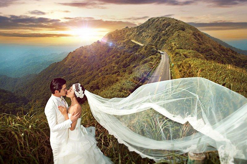 七星級婚紗旗艦「專為明星的婚禮」