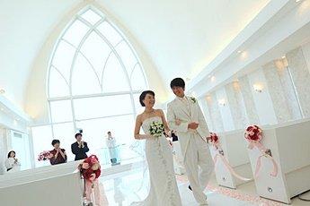 分享我的沖繩教堂婚禮