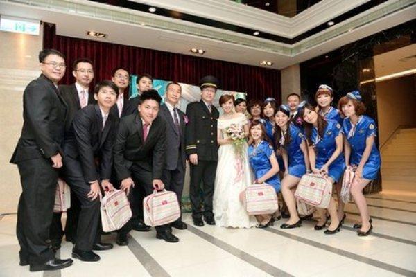 飛機婚禮2